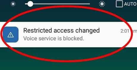 How to fix data service is blocked - Everything is busted